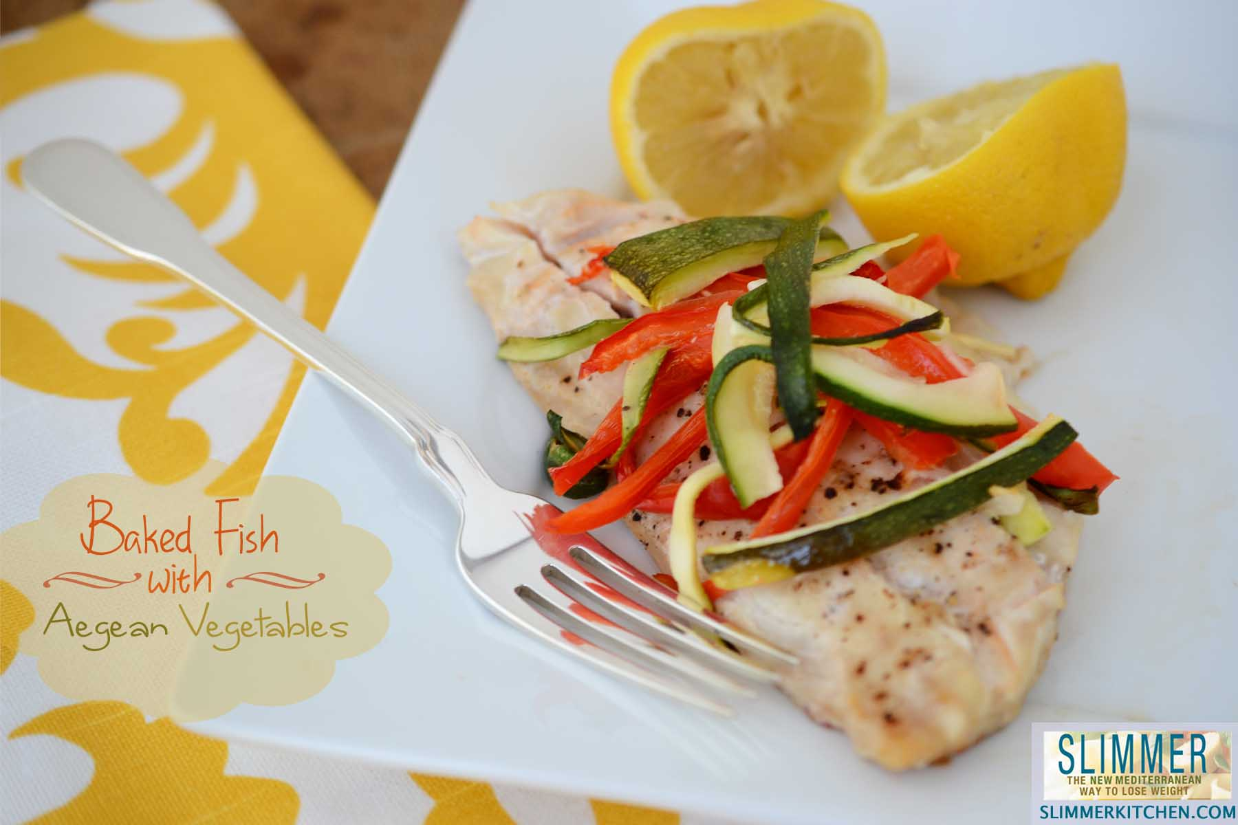 Slimmer kitchen an exploration of recipes tips and for Fish and vegetable recipes